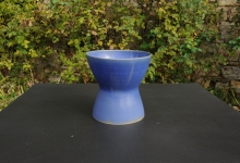 Soneware vase electric blue
